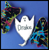 Boo!   Who! Halloween Place Cards  : Halloween Ghost Crafts Ideas for Kids