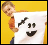 Ghost   Chair Covers  : How to Make Halloween Ghosts Crafts