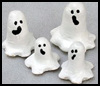 Salt   Dough Halloween Ghosts