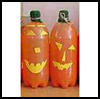 Soda   Bottle Jack o' Lantern
