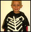 Bin   Bag Skeleton  : Skeleton Crafts for Kids