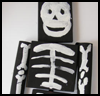 Skeleton   Mobile  : Making Scary Skeletons Arts and Crafts Projects