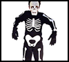 Mr.   Rattles Costume  : Make Spooky Skeletons for Halloween