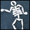 Spooky   Skeleton   : Halloween Skeleton Crafts for Children