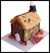 Haunted   Gingerbread House  : Halloween Haunted House Craft Idea for Kids