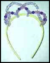 Beaded Crown : King Queen Prince Princess Crafts for Kids