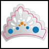 Enchanted Princess Tiara : King Queen Prince Princess Crafts for Kids
