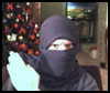 How To Make a Ninja Mask out of an ordinary T-Shirt!