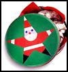 Starry Santa Tin