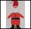 Wooden    Spoon Santa