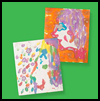 Fingerprint   Bright Silhouettes  : Silhouettes Arts and Crafts Projects for Kids