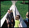 "Backyard   Tepee <span class=""western"" style="" line-height: 100%""> : Thanksgiving Indians Crafts Ideas for Kids</span>"