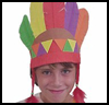 "Native   American Foamie Headdress <span class=""western"" style="" line-height: 100%""> : American Indians Arts and Crafts Projects for Children</span>"
