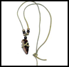 "Arrowhead   Necklace <span class=""western"" style="" line-height: 100%""> : Thanksgiving Indians Crafts Ideas for Kids</span>"