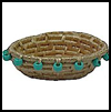 "Native   American Coiled Baskets <span class=""western"" style="" line-height: 100%""> : Pilgrims and Indians Arts and Crafts Projects</span>"