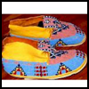 "Native   American Moccasins <span class=""western"" style="" line-height: 100%""> : American Indians Arts and Crafts Projects for Children</span>"