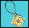 "Native   American Pendant <span class=""western"" style="" line-height: 100%""> : American Indians Arts and Crafts Projects for Children</span>"