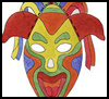 "Colorful   Paper Masks <span class=""western"" style="" line-height: 100%""> <span class=""western"" style="" line-height: 100%""> : American Indians Crafts Activities for Children</span></span>"