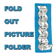 Make a Fold Out Accordian Picture Folder Book for Mom on Mother's Day