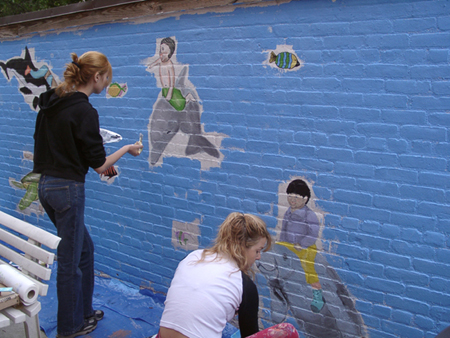Volunteer to Paint Murals
