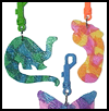 Backpack Suncatchers : Decorate Backbag Crafts for Kids