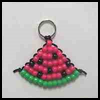 Watermelon Bead Pattern : Decorating School Bag Crafts for Children