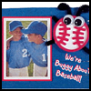 Baseball Frame : Baseball Crafts Ideas for Kids