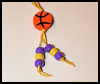 Basketball    Pin or Magnet  : Basketball crafts ideas for kids