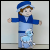 Shepherd   TP Roll Craft    : Bible Arts and Craft Activities