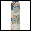 Moses   Toilet Paper Roll Craft   : Bible Story Craft Ideas for Children
