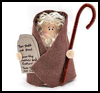 Cardboard   Tube Moses  : Bible Craft Ideas for Kids