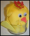 aster Chick Pin Cushion : Making Birds Arts and Crafts for Kids