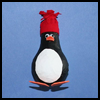 Light    Bulb Penguin   : Making Birds Arts and Crafts for Kids
