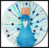 Peacock Paper Plate Craft : Crafts Ideas with Birds for Children