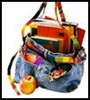Blue Jeans Book Bag