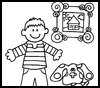 The       Coloring Spot   : Blue's Clues Coloring Page Printouts