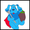 More       Coloring Page  : Blue's Clues Coloring Pages