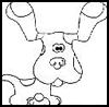 AFunk  : Blue's Clues Coloring Pages