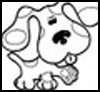 <strong>NickJr.com  : Blue's Clues Coloring Pages</strong>