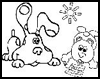 Fun-With-Pictures.Com  : Blue's Clues Coloring Pages
