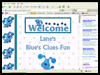 Lane's       Blue's Clues Fun     : Blue's Clues Coloring Book Pages