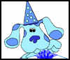 DLTK  : Blue's Clues Coloring Pages