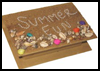 Summer Fun Keepsake Box : Box Crafts Instructions for Kids