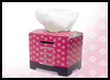 Japanese Tissue Box : Box Crafts Actvities for Children