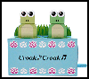Frog Music Box Paper Craft : Box Crafts Actvities for Children