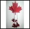 Maple   Leaf Mobile  : Canada's Maple Leaf Crafts Activities