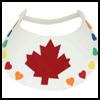 Canada<br />  Day Party Hat  : Canada Day Crafts Ideas for Kids