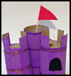 Paper Tube Castle Crafts Instructions for Kids