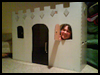 Cardboard Box Castle and Puppet Theater