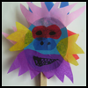 Chinese   Lion Puppet  : Chinese New Year Crafts Ideas for Kids